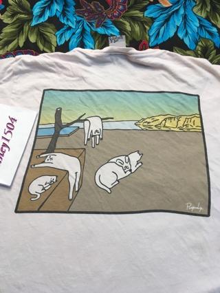 1 RIPNDIP Shirt Cats Art Tee Size MEDIUM