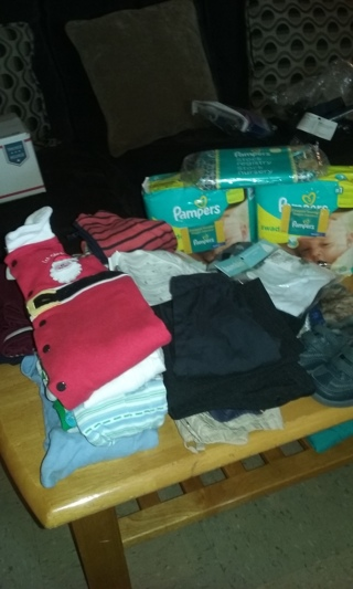 LARGE LOT OF BABY BOYS CLOTHES, ETC....