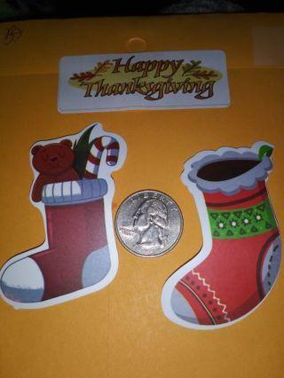 Christmas scrap book stickers No refunds! Lowest gins no lower! Always bonus!