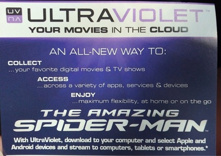The amazing spider man digital movie