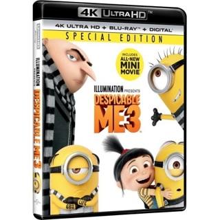 Despicable Me 3 iTunes 4K Digital Copy