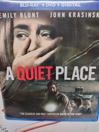 A QUIET PLACE  (( GREAT MOVIE )) Blu-ray & DVD disc
