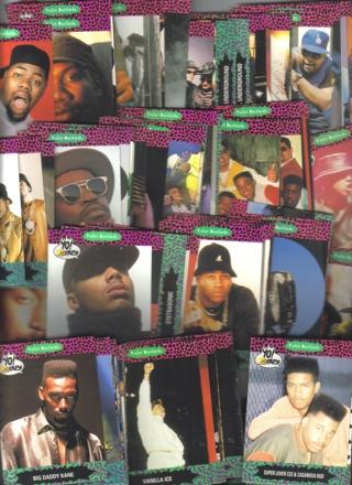 1991 proset yo mtv raps series 1 100 card base set