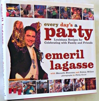 ☆ Every Day's a Party Emeril Lagasse Cookbook-HB