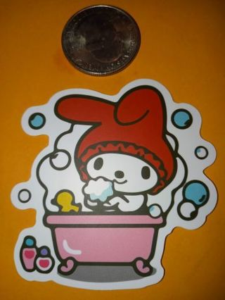 My melody Cute vinyl sticker no refunds regular mail only Very nice