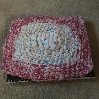 Upcycled feminine Mat