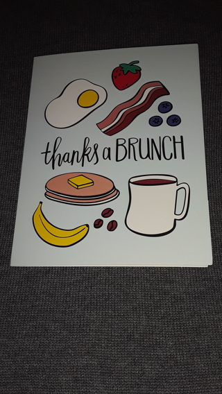 Notecards - Thanks A Brunch