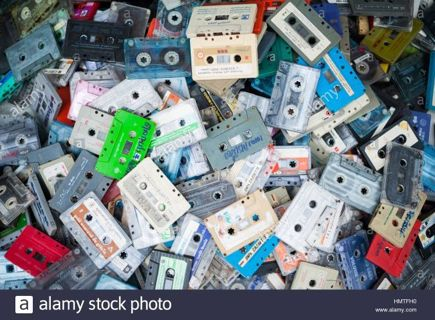 12 COLLECTIBLE Mixed Cassettes Tapes