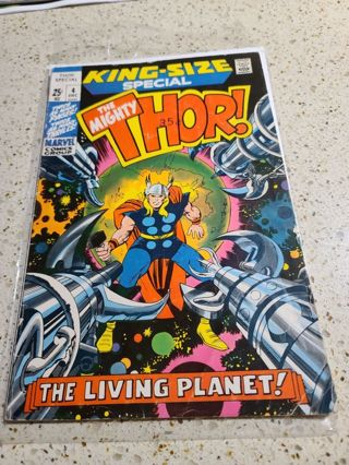 The mighty Thor king size Special #4 December 1971
