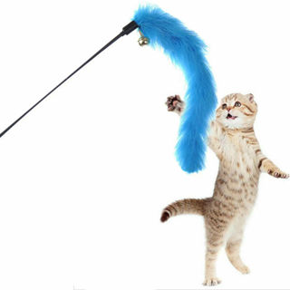 Fun Toy Wire Chaser Wand For Cat