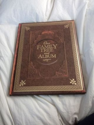 New Our Family Tree and Album Book