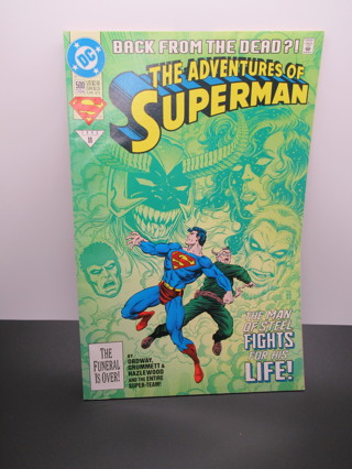 THE ADVENTURES OF SUPERMAN #500