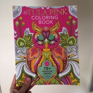 The Tula Pink Coloring Book - 75+ signature Designs in fanciful coloring pages