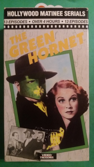 VHS movie  the green hornet  free shipping
