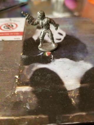 Star Wars Han Solo Mini pewter figurine statuette