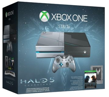 NEW*! Xbox One 1TB Console Halo 5: Guardians Limited Edition Bundle!
