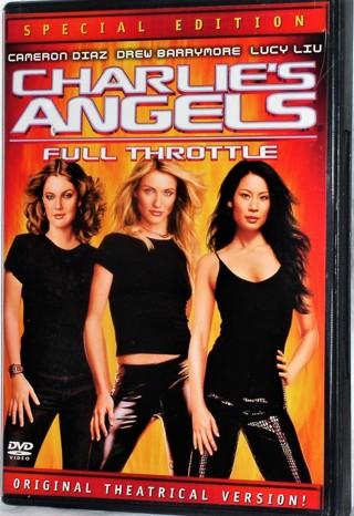 DVD: Charlie's Angels: Full Throttle