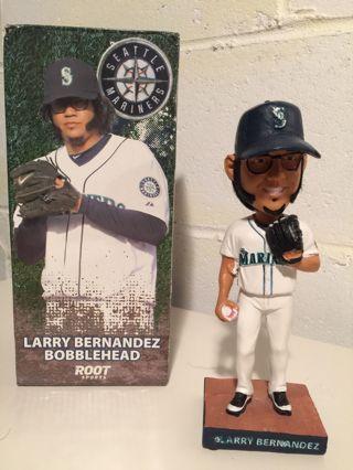Larry Bernandez Bobblehead Seattle Mariners MLB LMTD ED