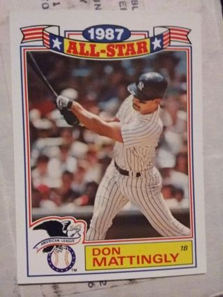 Mystery New York Yankees Card