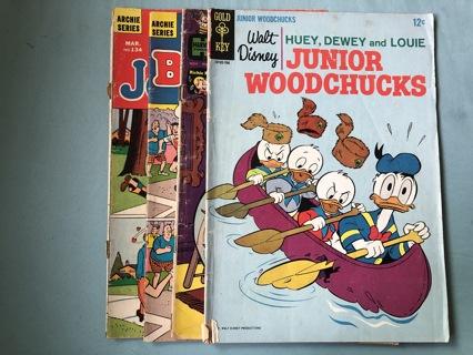 Four 1960's Silver Age Comics