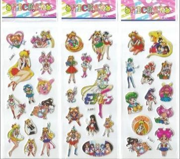 SAILOR MOON Stickers FREE SHIPPING