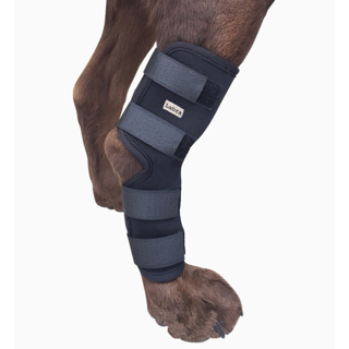 Labra Extra Supportive Dog Canine Rear Leg Hock Joint Wrap Protects Wounds as They Heal
