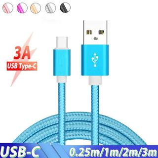 Type C Cable 3m Fast Charge Long USB Type-C Cable for Huawei Nova 4 Xiaomi Redmi Note 7 Pro Mi 9 U
