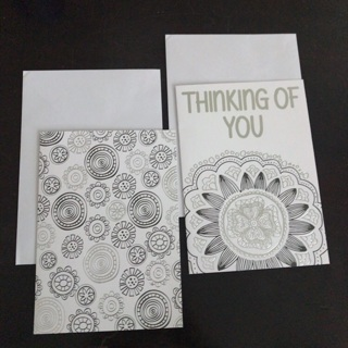 Color yourself blank cards