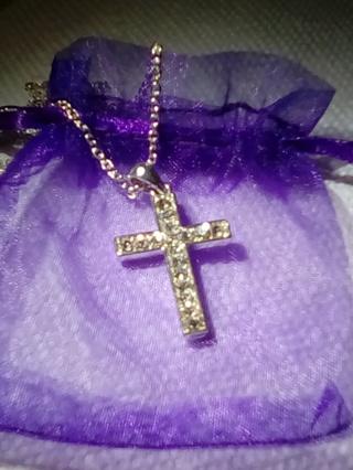 Sparkle Cross Necklace