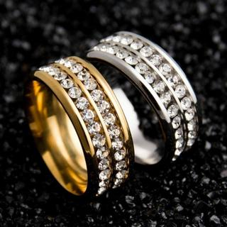 Men Women Unisex Stainless Steel Band Ring Wedding Silver Gold Jewelry Size 6-13