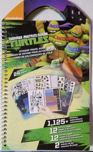 Teenage Mutant Ninja Turtles Sticker Travel Book