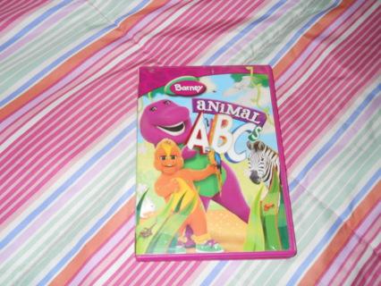 Free Barney Animal Abcs Dvd Listiacom Auctions For Free Stuff