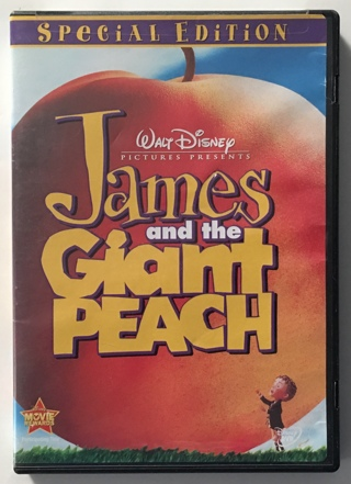 Disney James and the Giant Peach Special Edition Movie (DVD, 2000) - Partially Sealed!