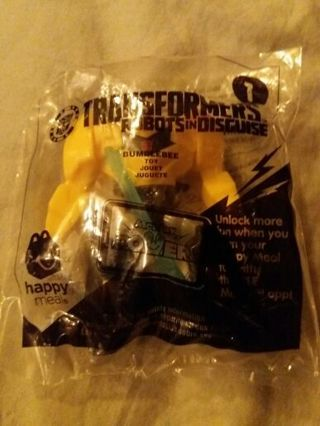 Transformers Happy Meal Toy ~ UNOPENED! ~ Bumblebee !