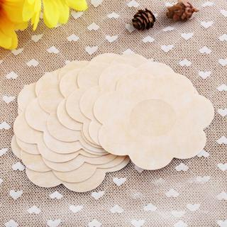 10 Pairs Womens Flower Petals Invisible Breast Tape Sticker Nipple Covers