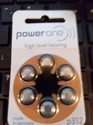 Powerone high level hearing aids battery