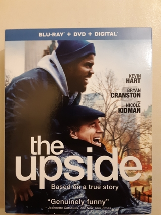 NEW THE UPSIDE BLU-RAY + DVD + DIGITAL