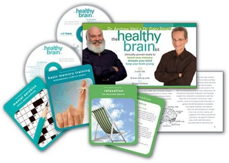 The Healthy Brain Kit: Clinically Proven Tools to Boost Your Memory, Sharpen Your Mind, and Keep ...