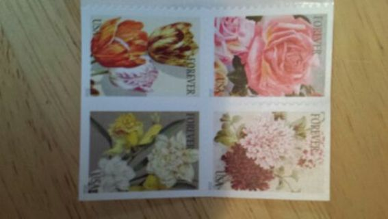 4 ~ Forever Stamps~ self stick
