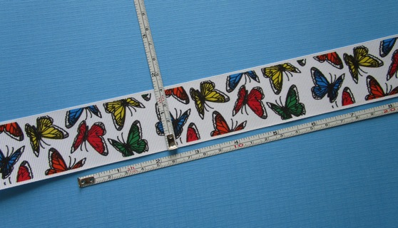 """36 INCHES of BEAUTIFUL """"BUTTERFLY"""" RIBBON (NEW) !!! ~ FREE SHIPPING !!!"""