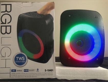 RGB Light Bluetooth speaker