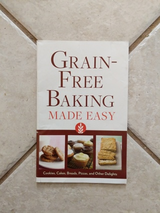 Grain Free Baking recipe booklet