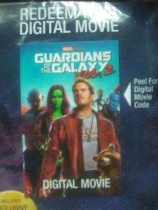 Digital code Guardians of the Galaxy