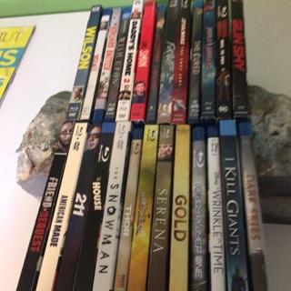 Winner picks 6 Blu-ray from 25