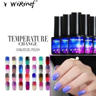 WiRinef Thermo Chameleon Gel Nail Polish Hot Sale Temperature Change Color Gel Varnish UV Gel Nail