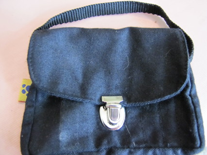 5fb6021a96 Build-a-bear accessory- tiny black briefcase or book bag- authentic and