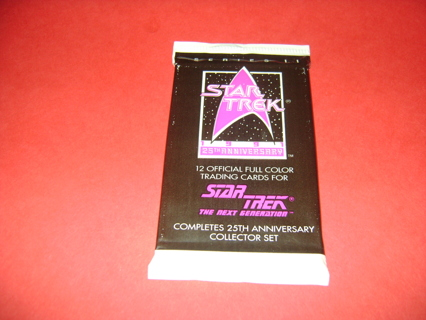 Star Trek Series II 25th Anniversary Sealed Trading cards