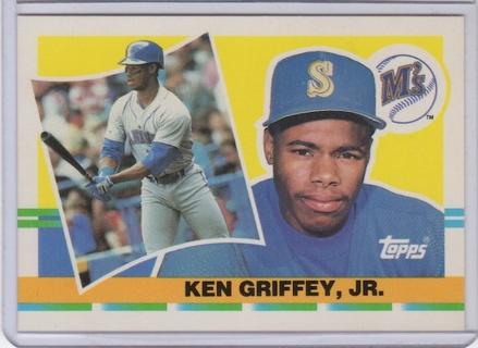 Free 1990 Topps 250 Ken Griffey Jr Rookie Card Sports