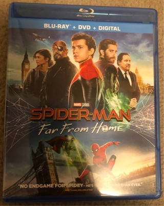 Movie code for Spider-Man far from home Digital HD