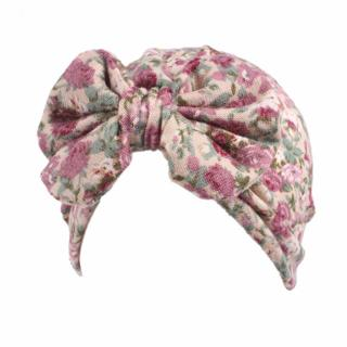 Baby Floral Hat Cap Children Hats Bowknot Children's Spring Autumn Hats For Kids Clothes Accessori